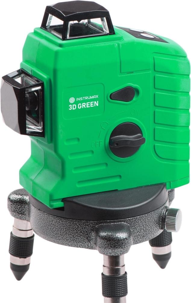 Лазерный нивелир Instrumax 3D Green