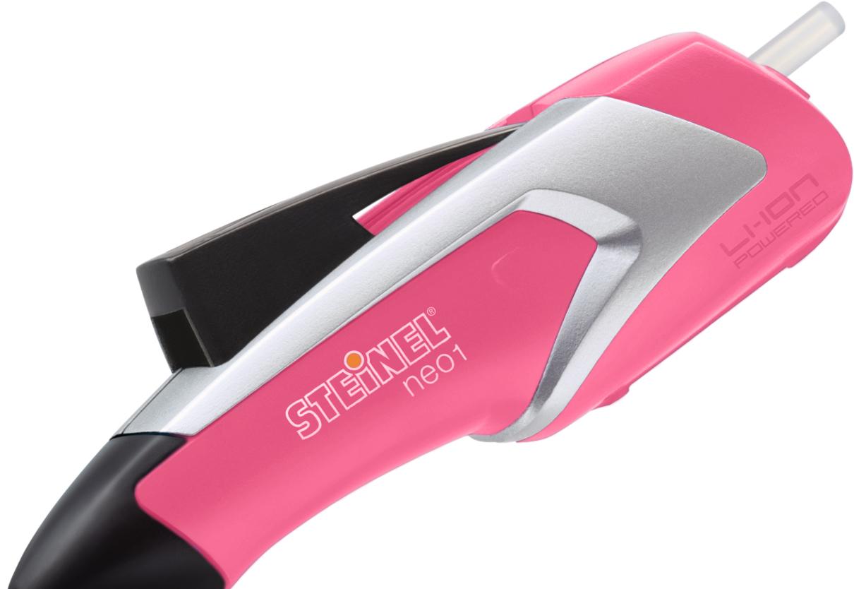 Термоклеевой пистолет Steinel neo1 (розовый)