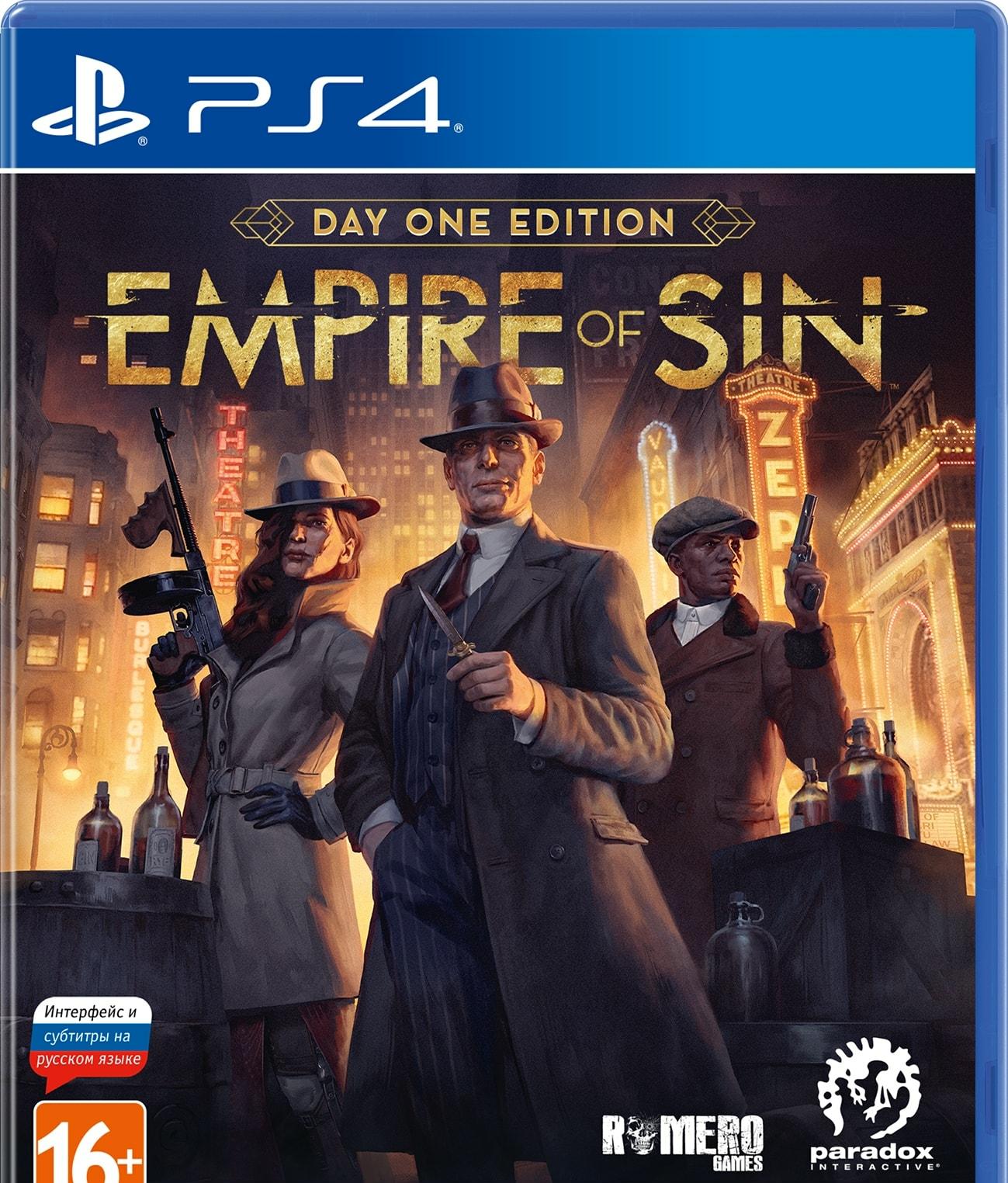 Empire of Sin. Издание первого дня для PlayStation 4