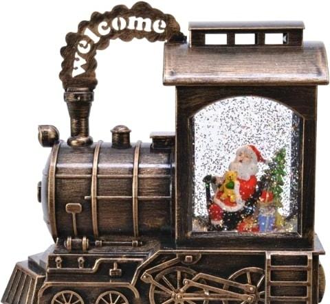 Статуэтка Kaemingk новогодний поезд 485765
