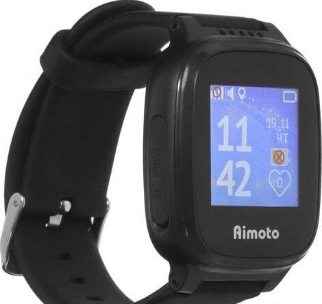 Умные часы Aimoto Kid Mini (черный)