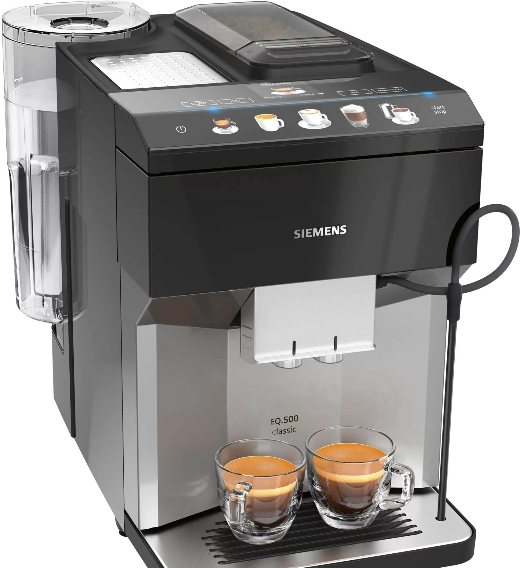 Эспрессо кофемашина Siemens EQ.500 classic TP507R04