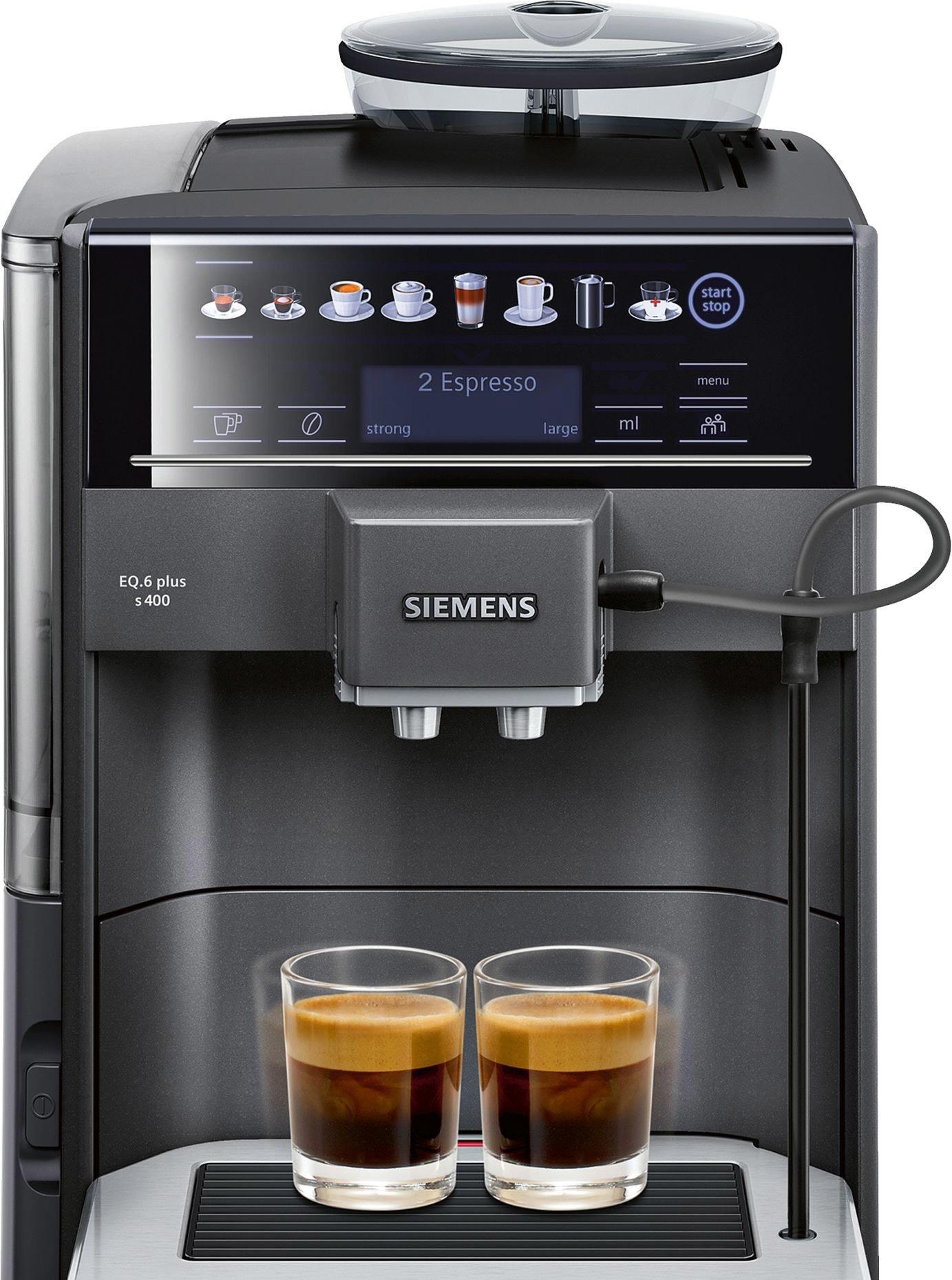 Эспрессо кофемашина Siemens EQ.6 plus s400 TE654319RW