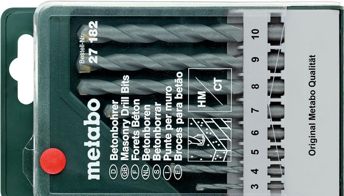 Набор оснастки Metabo 627182000 (8 предметов)