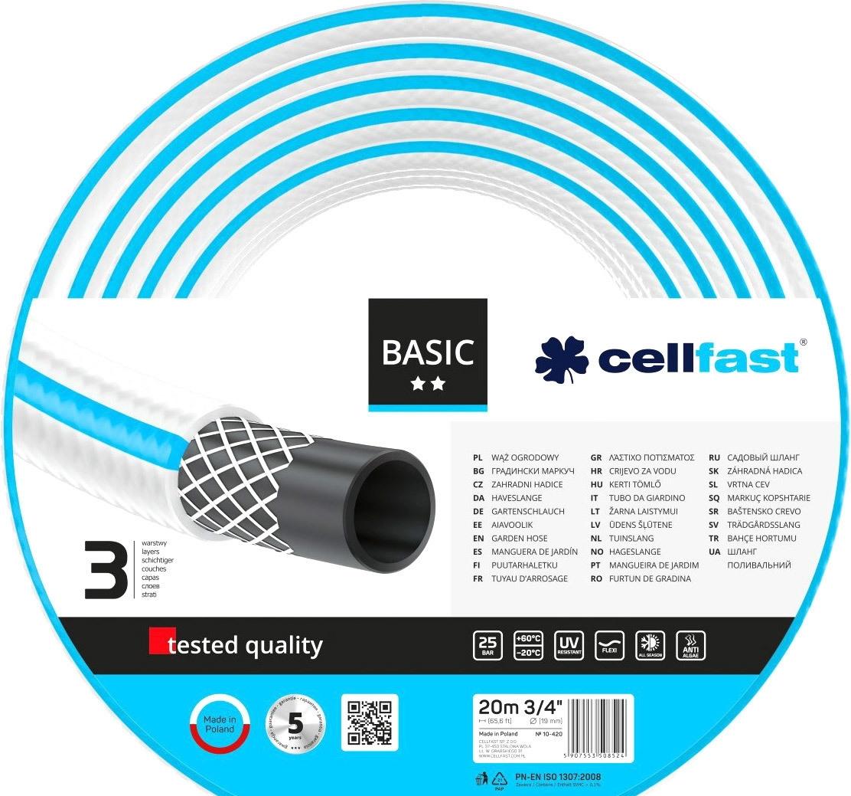 Шланг Cellfast Basic (3/4″, 20 м) 10-420