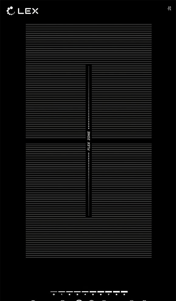 Варочная панель LEX EVI 320 F BL