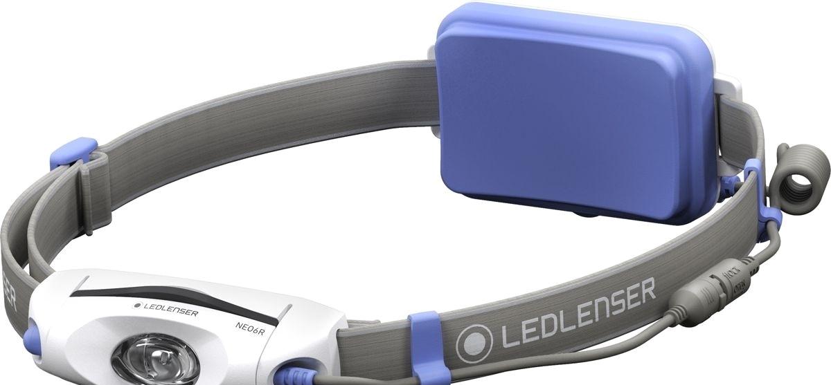 Фонарь Led Lenser Neo 6R (серый/синий)