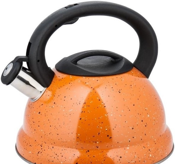 Чайник со свистком KINGHoff KH-3787 (оранжевый)