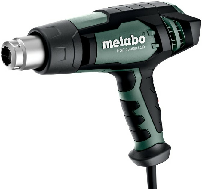 Промышленный фен Metabo HGE 23-650 LCD 603065000