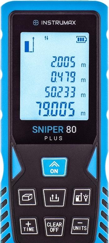 Лазерный дальномер Instrumax Sniper 80 Plus