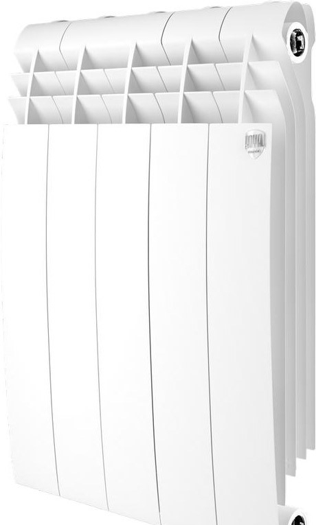 Биметаллический радиатор Royal Thermo BiLiner 500 Bianco Traffico (6 секций)
