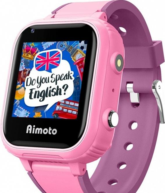 Умные часы Aimoto Discovery 4G (розовый)