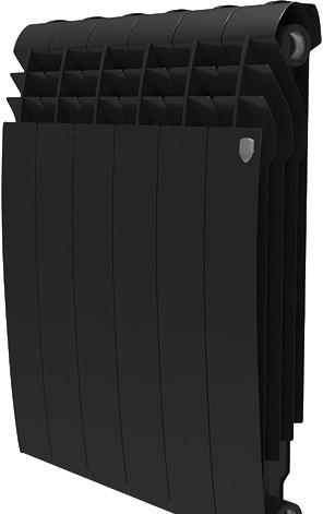 Биметаллический радиатор Royal Thermo BiLiner 500 Noir Sable (8 секций)