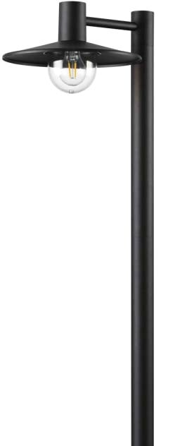 Садовый светильник Odeon Light Furcadia 4833/1F