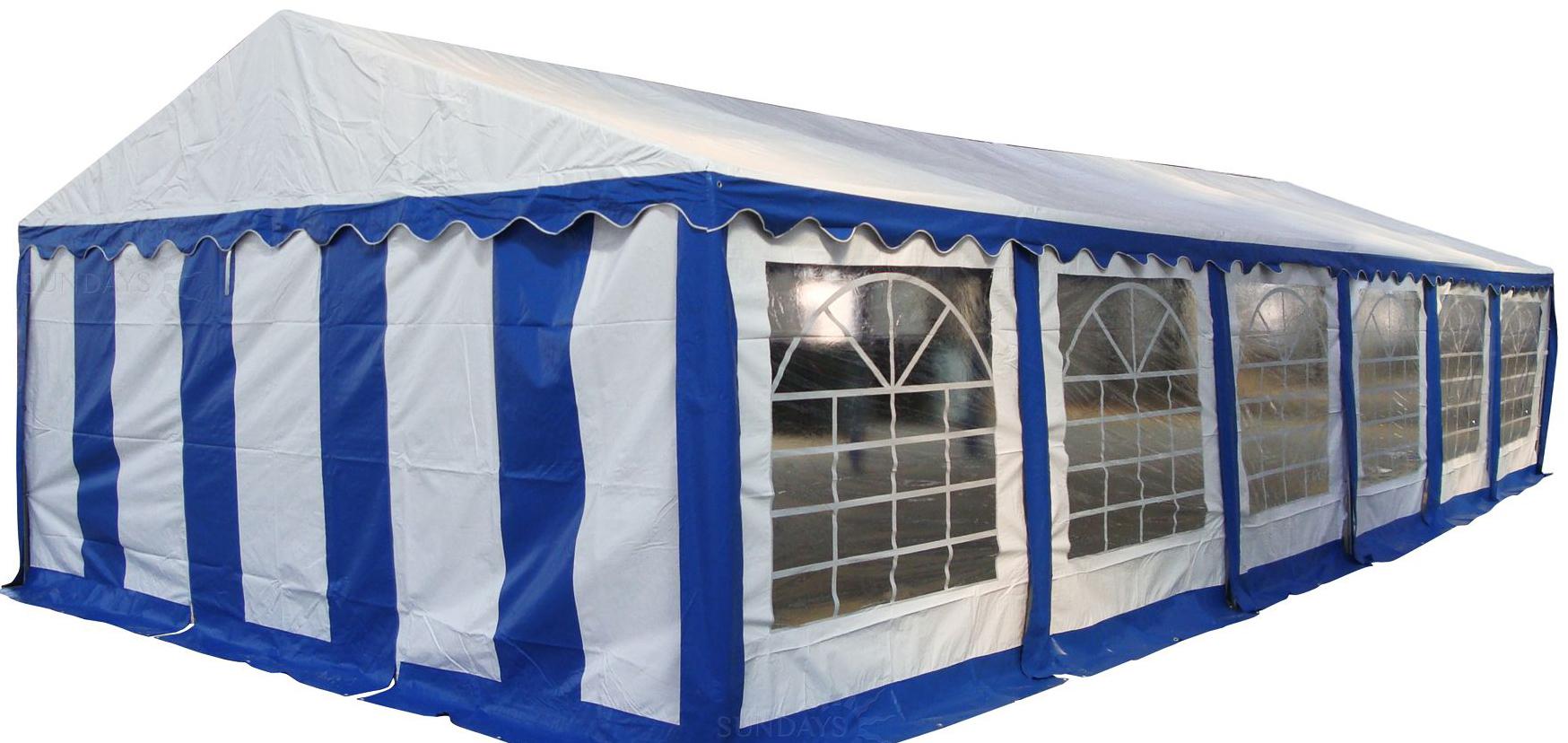 Тент-шатер Sundays Тент 512201 12×5 м (синий)