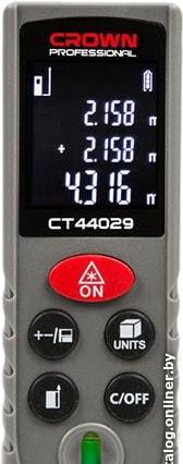 Лазерный дальномер Crown CT44029