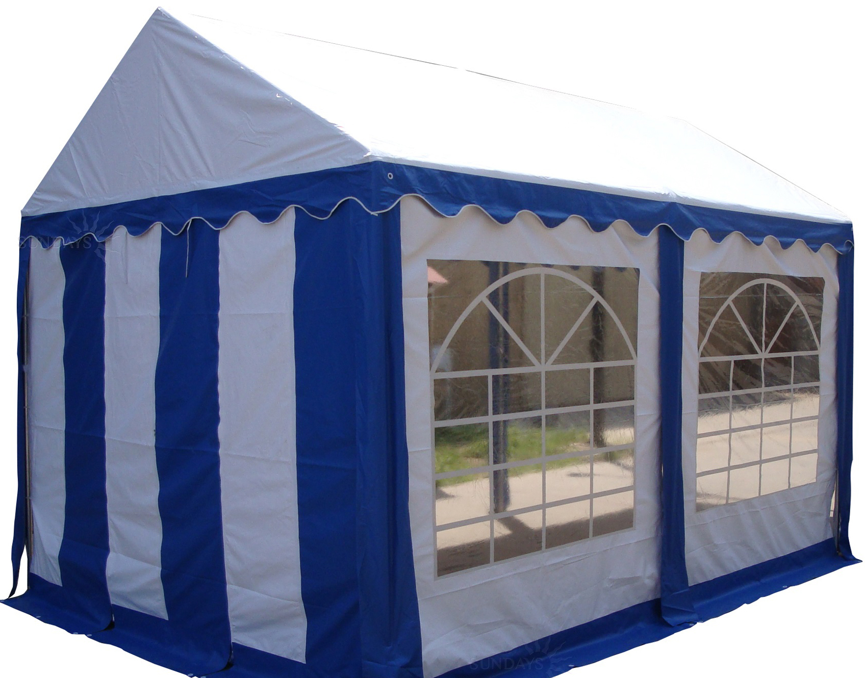 Тент-шатер Sundays Тент 34201 4×3 м (синий)