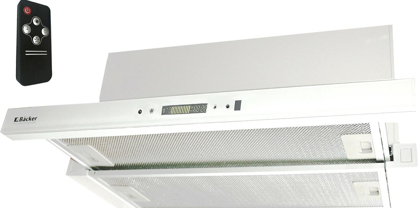 Кухонная вытяжка Backer TH60CL-2F200-SHINY WHITE RC