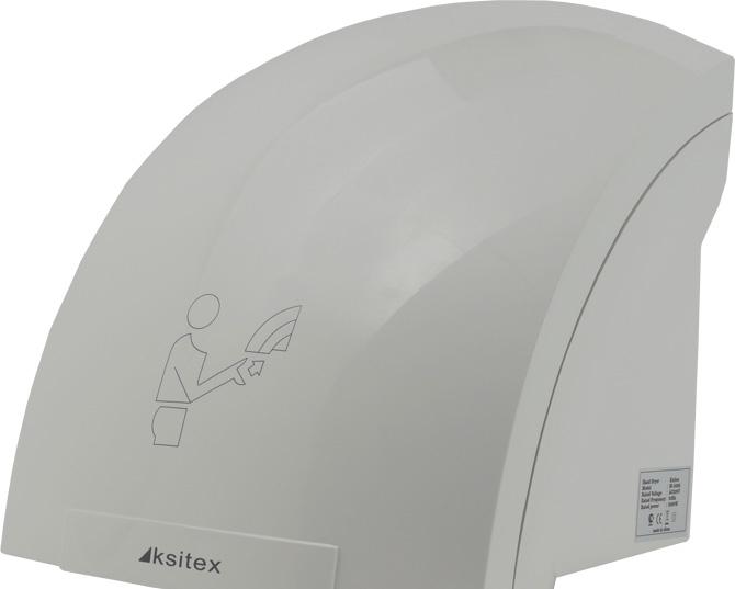 Сушилка для рук Ksitex M-1800 (белый)