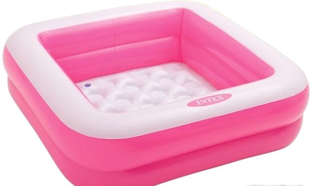 Надувной бассейн Intex Play Box 85х23 (розовый) [57100]