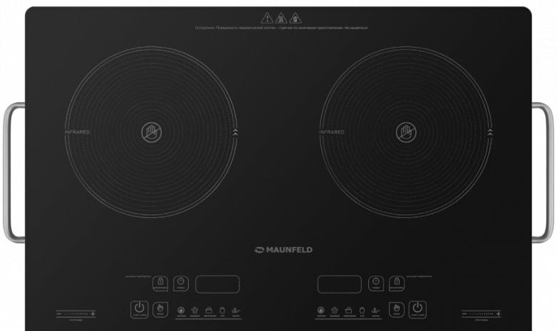 Настольная плита MAUNFELD EVCE.F592-BK