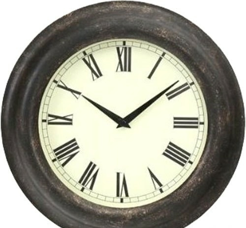 Настенные часы Platinet Glow PZGC (серый)