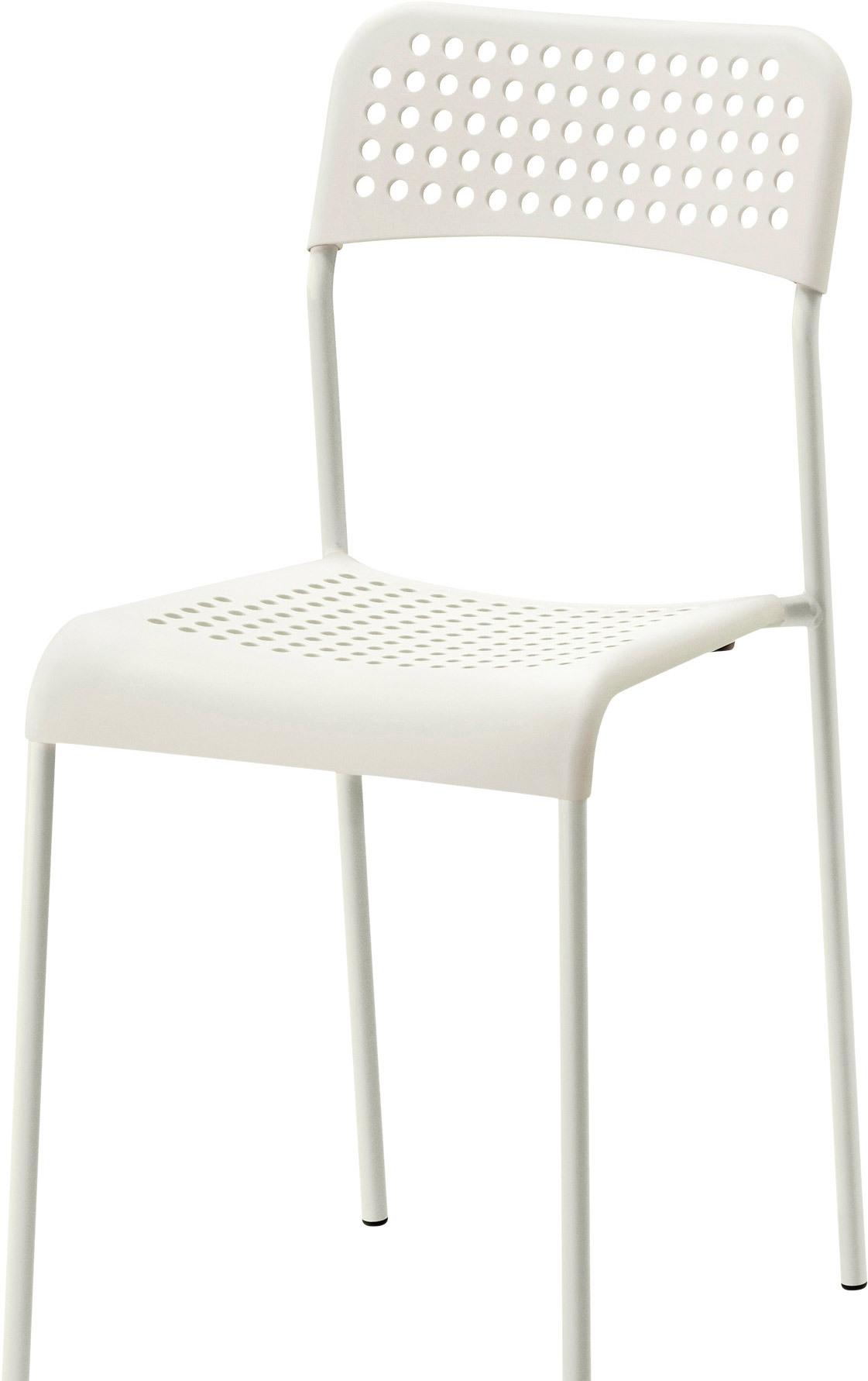 Стул Ikea Адде (белый) [103.597.91]