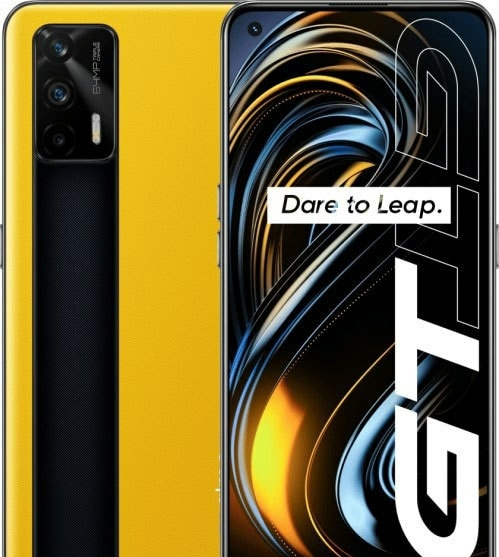 Смартфон Realme GT 5G 12GB/256GB (желтый)
