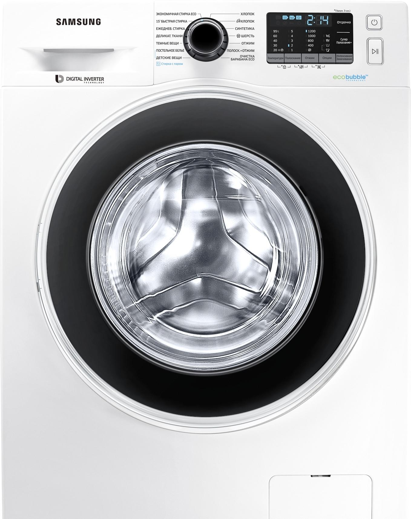 Стиральная машина Samsung WW60J52E0HWDBY