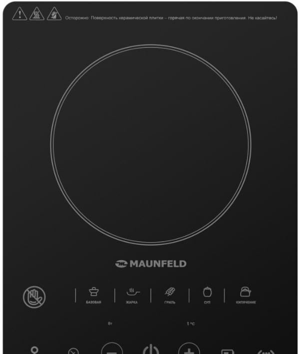 Настольная плита MAUNFELD EVCE.F291-BK
