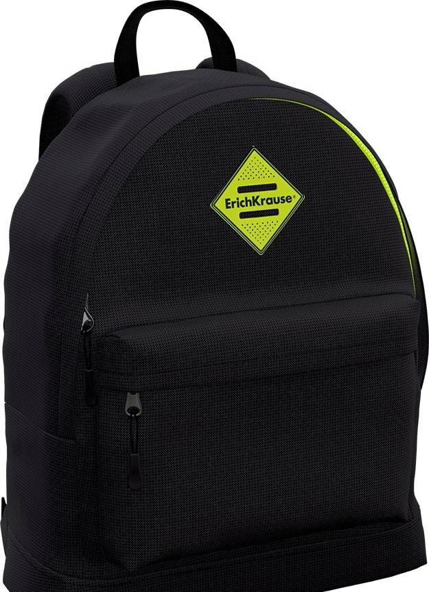Рюкзак Erich Krause EasyLine 17L Black&Yellow 48548