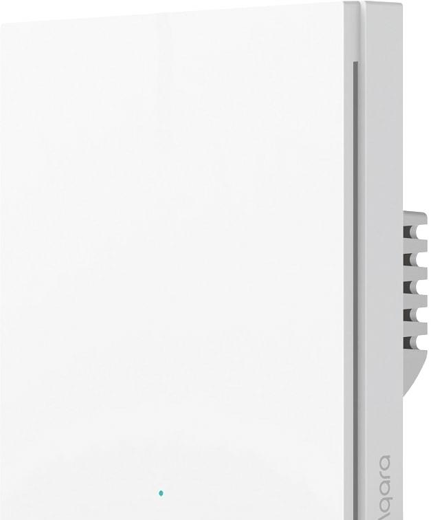 Выключатель Aqara Smart Wall Switch H1 (одноклавишный, без нейтрали)